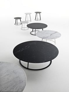 Albino Family / Design: Salvatore Indriolo, 2011 / Albino Family is a series derived from the Albino table, designed in 2010 by Salvatore Indriolo. It is available in different sizes and finishes to add elegance to both living and sleeping environments.