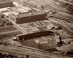 Crosley Field Aerial 1962   by Photoscream Stadium Tour, Yankee Stadium, Mlb Stadiums, Steam Boats, Baseball Park, Ohio River, Washington Nationals, Cincinnati Reds, San Francisco Giants