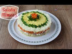 Salata Mimoza cu ton și legume. Salată rusească în straturi. Salată aperitiv. Tort aperitiv cu cașcaval. Aperitiv festiv. Rețetă pentru masa de sărbătoare.
