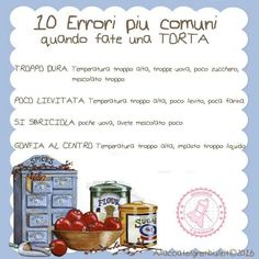10 Errori più comuni....