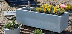 Plantenbak van beton maken