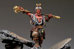 A miniature from Journey: Wrath of Demons