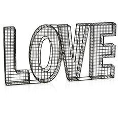 Wilko Wire Love Decor Sign at wilko.com