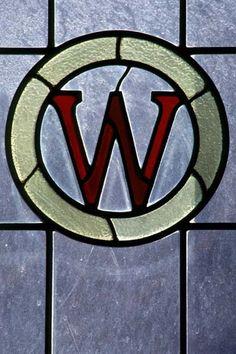 Stained Glass W Emblem