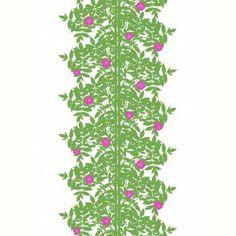 Marimekko Fabric - Cotton - Ruusupuu 004 Green – Kiitos living by design