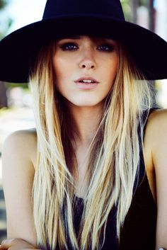 Bohemian vibe bringing the romance back to what a hat should represent = Demure & Sophistication...with a little sex-appeal