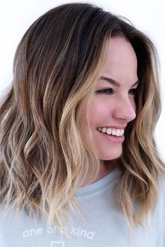 Ombre Color for Curly Hair