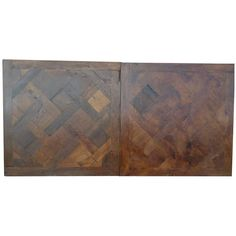 Antique Oak Parquets, Reclaimed from European Farm Houses   From a unique collection of antique and modern flooring at https://www.1stdibs.com/furniture/building-garden/flooring/