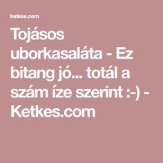 Tojásos uborkasaláta - Ez bitang jó... totál a szám íze szerint :-) - Ketkes.com
