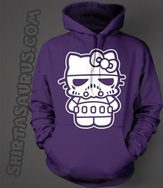 Hello Stormtrooper On A Super Soft Hoodie Only $29.99 With Fast Shipping www.Shirtasaurus.com