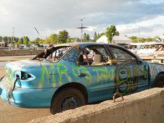 Demolition Derby Car
