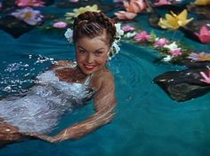 Esther Williams synchronized swimming