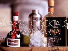 """This is """"WEB: Classic Cocktails: The Margarita"""" by LEAFtv on Vimeo, the home for high quality videos and the people who love them. Saffron Rice, Leaf Tv, Hooch, Classic Cocktails, Happy Hour, Alcohol, Entertaining, Drinks, Bottle"""