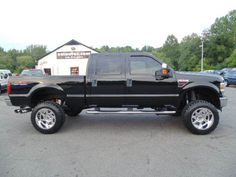 WWW.EMAUTOS.COM  JUST LIFTED 2008 Ford F-250 Super Duty Lariat Crew Cab 4x4…