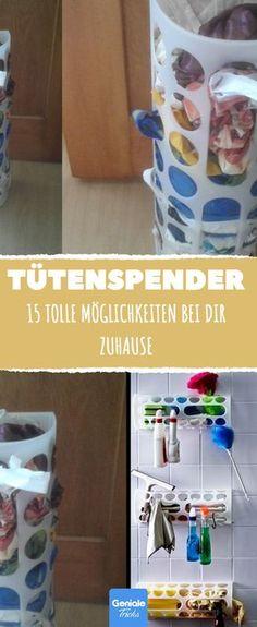 Tütenspender Variera: 1,50 € bei IKEA, 15 tolle Möglichkeiten bei dir zuhause.