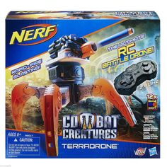 "Mom..Dad.. Want your nerf loving kids to love you; one word ... ""Terradrone"" !"