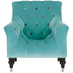 John Lewis Mr Bright Chair, Aqua