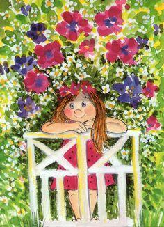 """""""Salainen puutarha."""" (The Secret Garden) Virpì Pekkala"""