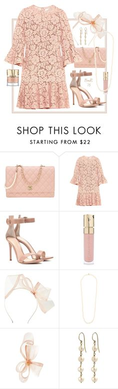 """""""Valentino: Elegance"""" by barbmama ❤ liked on Polyvore featuring Chanel, Valentino, Gianvito Rossi, Smith & Cult, Phase Eight and Dominique Modiano"""
