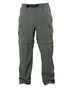 Made from durable, 3-ply, laundered Supplec® nylon, the Men's Royal Robbins Zip N' Go Pants are lightweight durability for all your camping, hiking, backpacking and travel needs. In less than thirty seconds, you can convert from pants to shorts and back again, all with the ease of zip-off legs and handy hidden zippers.