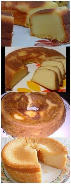 FAÇA ESSE BOLO LISO,É SUPER MOLINHO E DELICIOSO… ❤️ 600 ml de leite 5 ovos 1 xícara (chá) de açúcar #torta#pastel#cumpleaños#dulce#postre#pudín#mousse#cheesecake#chocolate#sanvalentin#love#receta#confitería Mole, Homemade Cakes, Cake Recipes, French Toast, Food And Drink, Candy, Baking, Breakfast, Sweet