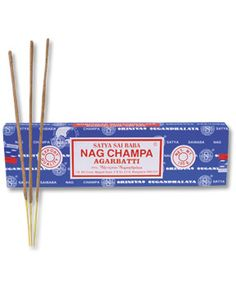 Nag Champa. the smell makes me happy