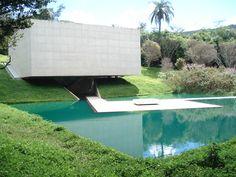 tacoa arquitetos / galeria adriana varejão,  inhotim centro de arte contemporânea brumadinho brasil