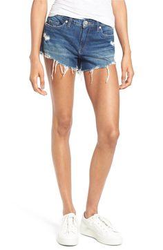Main Image - BLANKNYC Cutoff Denim Shorts (Shake It Out)
