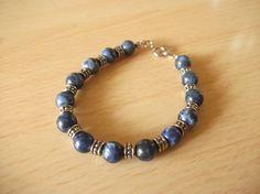 Blue Marbles by InspiredByKarma on Etsy, $15.00