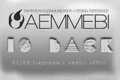 siamo tornati! stay tuned  www.aemmebi.it!
