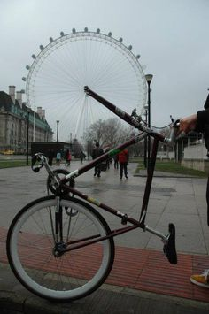bicycles, london eye, funny pictures, caramels, roller coaster