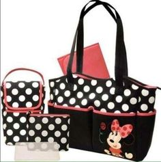 Pañalera Disney Minnie Mouse 5 En 1