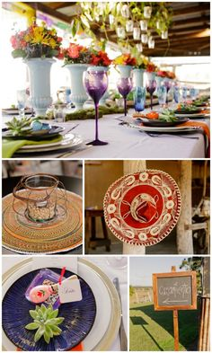 Mexican Wedding Fiesta Styling