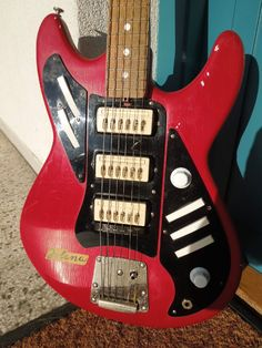 Vintage Electric Guitar Jolana Alfa Made in Czechoslovakia from 60´S