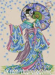 Blue Geisha 1