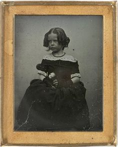 Sarah Ann Lawson, May 1845. Photographed by George Goodman