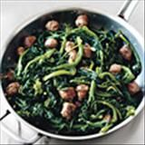 Broccoli Rabe With Sweet Italian Sausage--making it for Easter!