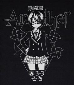 Custom Another Anime t-shirt Manga Mei Misaki horror Fanmade Shirt T-shirt tee Tshirt