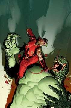 Red Arrow vs. Killer Croc