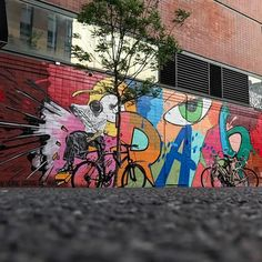 """Nick Walker & CrashOne, """"New York State of Mind"""" at the St_ArtNow wall on Ludlow & Delancey Street on the Lower East Side, NYC, 2017 Nick Walker, Lower East Side, The St, Nyc, York, Night, Street, Wall, Artwork"""