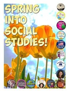 This free eBook includes 14 free social studies resources for grades K-12! Fourteen of the best sellers on TpT have gotten together and contributed resources to help you Spring into Social Studies!