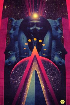 Saved by David Irlanda (davidirlanda). Discover more of the best Obelisk, Egypt, Design, Pharaoh, and Space inspiration on Designspiration Arte Lowbrow, Psy Art, Art Anime, Afro Art, Art Abstrait, Art Graphique, Visionary Art, Egyptian Art, Retro Futurism