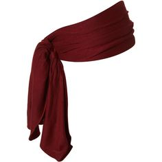 Burgundy Jersey Headband (335 MXN) ❤ liked on Polyvore featuring accessories, hair accessories, belts, pirate, hats, women, head wrap headband, hair bands accessories, knotted headband and knotted headwrap