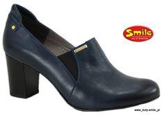 KRIMEN 5790 *granat_eleganckie Półbuty 36-40_SMILE (5318594116) - Allegro.pl - Więcej niż aukcje. Heeled Mules, Booty, Ankle, My Style, Heels, Fashion, Heel, Moda, Swag