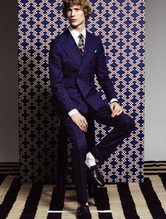 Style Magazine Brings Sartorial Flair with Suiting Editorial