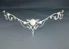 Moonlight Circlet Wedding Bridal Celtic Elven by ElnaraNiall, $254.99