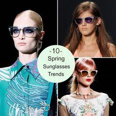 10 Spring Sunglasses Trends | Babble