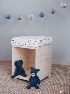 DIY Hocker Fürs Kinderzimmer Zum Spielen   Möbel Selberbauen   DIY Idee
