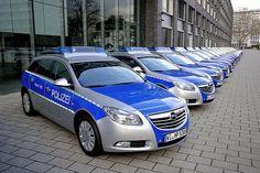 Opel German Police Car