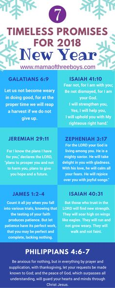 7 timeless promises for the new hear from Bible verses Christian Life, Christian Quotes, Bible Scriptures, Bible Quotations, Way Of Life, Word Of God, In This World, Just In Case, Wise Words